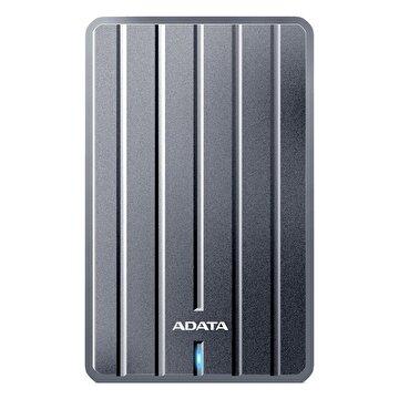 """Picture of Adata 1 TB 2,5"""" HC660 Ultra Slim Metal USB 3.1 Taşınabilir Disk Titanyum"""