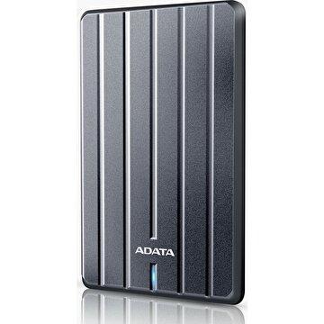 """Picture of Adata 2 TB 2,5"""" HC660 Ultra Slim Metal USB 3.1 Harici Taşınabilir Disk Titanyum"""