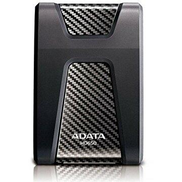 """Picture of Adata 1 TB 2,5"""" HD650 Darbeye Dayanıklı USB 3.1 Taşınabilir Disk Siyah"""