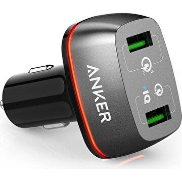 Picture of Anker PowerDrive+ 2 42W  QuickCharge 3.0 Hızlı Araç Şarj Cihazı