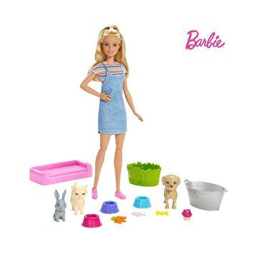 Picture of Barbie ve Hayvanları Banyo Eğlencesinde Oyun Seti