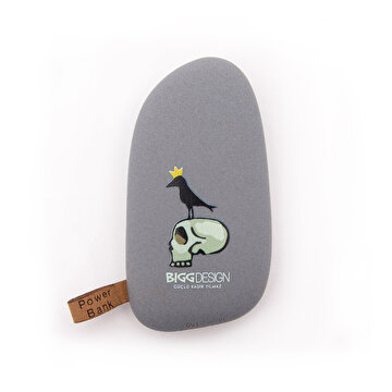 Picture of Biggdesign King Raven Gri Powerbank
