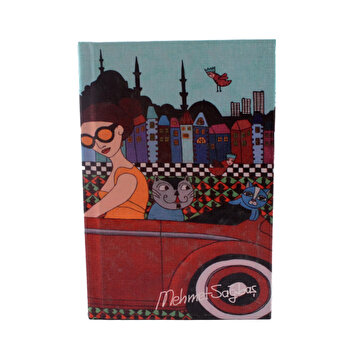 Picture of BiggDesign Arabalı Kız Defter 9X14