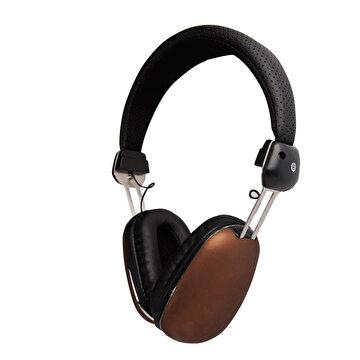 Picture of Biggsound Kahverengi Mikrofonlu Kulaklık