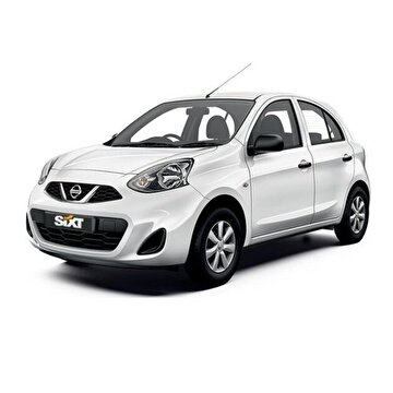 Picture of Sixt rent a car'dan Nissan Micra Araç Kiralama