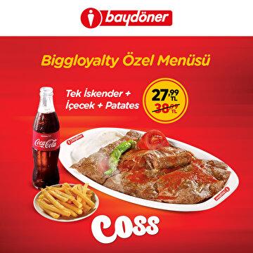 Picture of Baydöner Biggloyalty Özel Menüsü İndirim Kuponu
