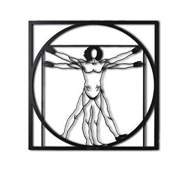Picture of Bystag BYSM-117 Da Vinci Man Metal Duvar Dekoru