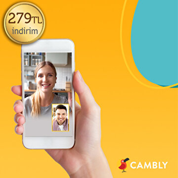 Picture of Cambly 279TL İndirim Kuponu