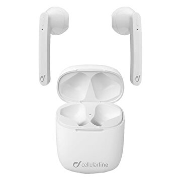 Picture of Cellularline Aries Bluetooth TWS Şarj Kılıflı Kulaklık-Beyaz