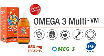 Picture of Dinamis Omega 3 Multi-VM Şurup 150 ml