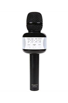 Picture of Doppler Karaoke Mikrofon KTV250 (Işık ve Sünger Hediyeli) Siyah