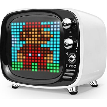 Picture of Divoom Tivoo Retro Bluetooth Hoparlör Beyaz