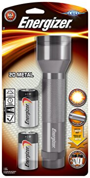 Picture of Energizer Metal LED Fener + 2D Boy Pil