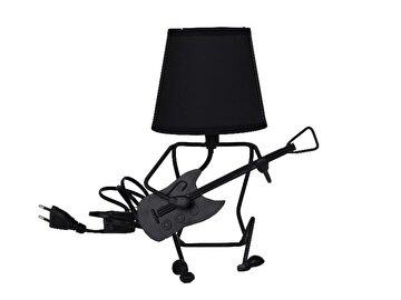 Picture of Equinoxe Gitarlı Masa Lambası Siyah