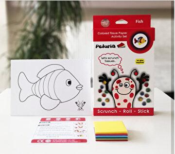 Picture of Peluria Pelür Kağıdı Etkinlik Seti - Fish