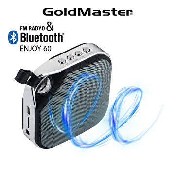 Picture of Goldmaster Enjoy- 60 Siyah Mp3 Bluetooth Oynatıcı