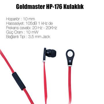 Picture of Goldmaster Hp-176 Mikrofonlu Kulaklık