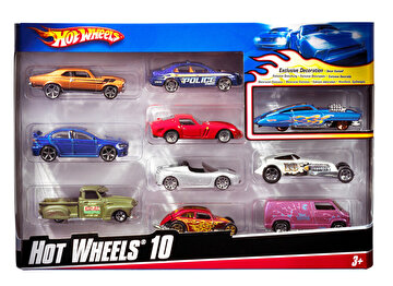 Picture of Hot Wheels 10'lu Araba Seti