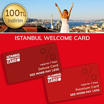 Picture of İstanbul Welcome Kart 100TL İndirim Kuponu