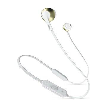 Picture of Jbl T205BT Bluetooth Mikrofonlu Kulak içi Kulaklık  Beyaz-Altın
