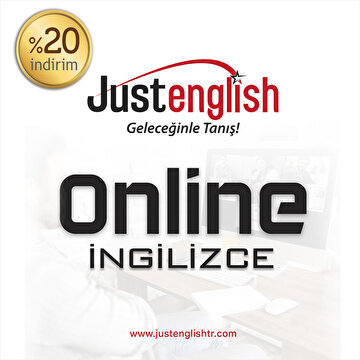 Picture of Just English %20 İndirim Kuponu