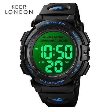 Picture of Keep London Unisex Dijital Japon Makine Saat Işıklı