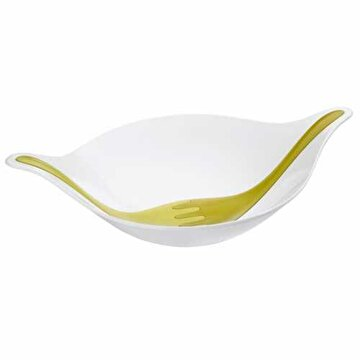 Picture of Koziol 3691100 Leaf Beyaz Salata Kasesi