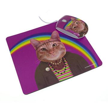 Picture of La Chaise Longue Lcl30C2149 Kedi Mouse Pad & Mouse