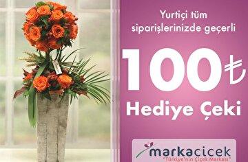 Picture of  Marka Çiçek 100 TL Dijital Hediye Çeki