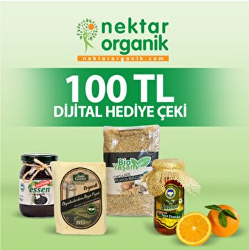 Picture of Nektar Organik 100 TL Dijital Hediye Çeki