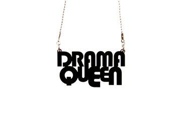 Picture of Noramore Drama Queen Siyah Kolye