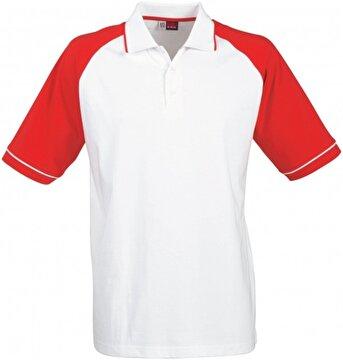 Picture of Us Basic 31081251 Polo T Shirt Kırmızı / Beyaz