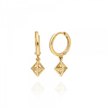 Picture of Pink Gold Store Milano Diamond Küpe