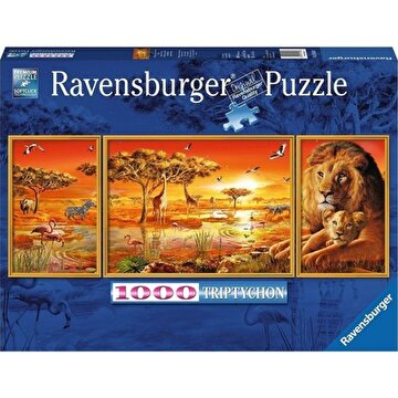 Picture of Ravensburger 1000P Panaromik Puzzle African