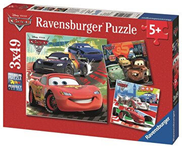Picture of Ravensburger 3x49 Parçalı Puzzle Walt Disney Cars2