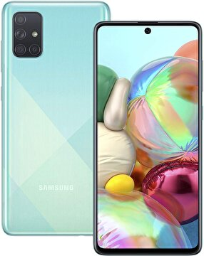 Picture of Samsung Galaxy A71 128 GB Cep Telefonu Prisma Blue