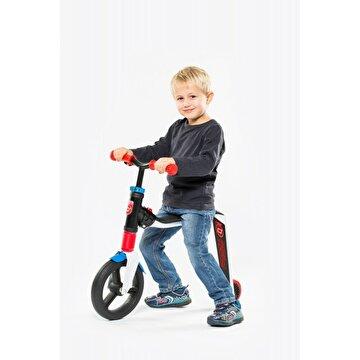 Picture of Scoot And Ride Beyaz-Kırmızı-Mavi Renk Highfreak Ayarlanabilir Scooter
