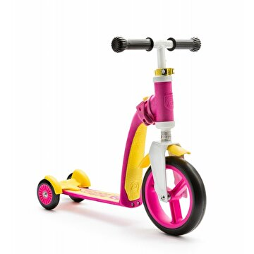 Picture of Scoot And Ride Pembe-Sarı Renk Highway Baby Ayarlanabilir Scooter