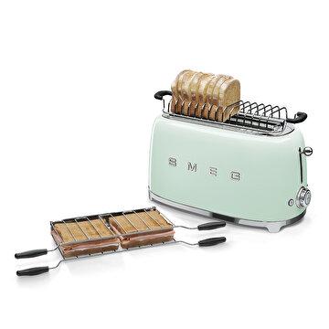 Picture of Smeg Paslanmaz Çelik Pastel Yeşil 2x2 Ekmek Kızartma Makinesi