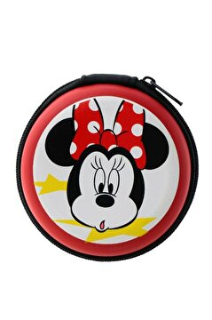 Picture of Volkano Disney Minnie Mouse Mini Fare Kulakiçi Kulaklık Çantalı Lisanslı Dy-1008-mm