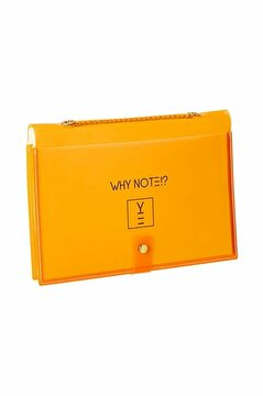 Picture of Whynote Notebook Bag Orange CardWish