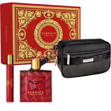 Picture of Versace Eros Flame EDP Erkek Parfüm Seti (100 ML + 10 ML + POUCH)