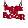 Biggdesign Trustme Blogger Kolye. ürün görseli
