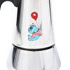 Biggdesign Mr. Allright Man Çelik Espresso Kahve Makinesi. ürün görseli