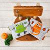 Milk&Moo Çaça Kurbağa Keçe Çocuk Çantası. ürün görseli