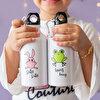 Milk&Moo Çaça Kurbağa 400 Ml Matara. ürün görseli