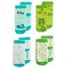 Milk&Moo Çaça Kurbağa ile Sangaloz 4'lü Anne ve Bebek Çorap Takımı . ürün görseli