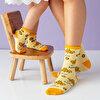 Milk&Moo Arı Vız Vız ile Çançin 4'lü Anne ve Bebek Çorap Takımı . ürün görseli