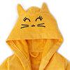 Milk&Moo Tombiş Kedi Kadife Bornoz. ürün görseli