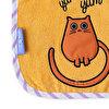 Milk&Moo Tombiş Kedi ve Sangaloz 2'li Havlu Önlük Seti. ürün görseli
